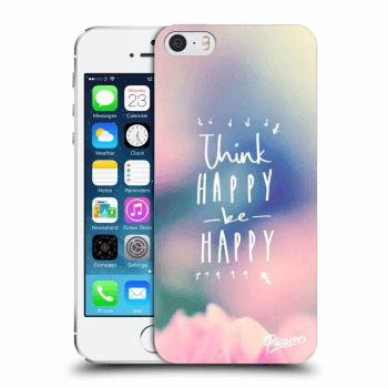 Hülle für Apple iPhone 5/5S/SE - Think happy be happy