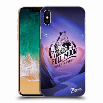 Hülle für Apple iPhone X/XS - Wolf