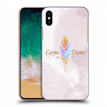 Hülle für Apple iPhone X/XS - Carpe Diem