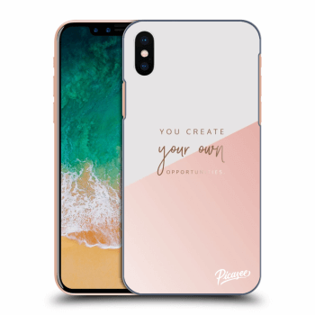 Hülle für Apple iPhone X/XS - You create your own opportunities
