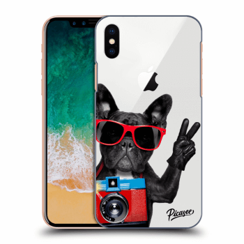Hülle für Apple iPhone X/XS - French Bulldog