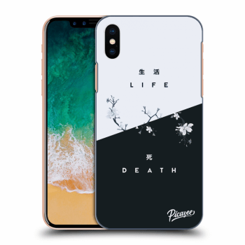 Hülle für Apple iPhone X/XS - Life - Death