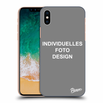 Hülle für Apple iPhone X/XS - Individuelles Fotodesign