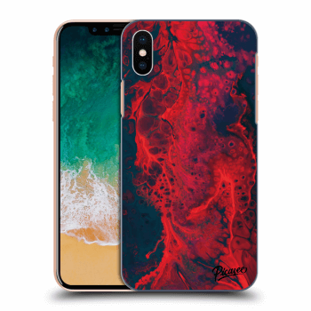 Hülle für Apple iPhone X/XS - Organic red