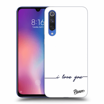 Hülle für Xiaomi Mi 9 SE - I love you