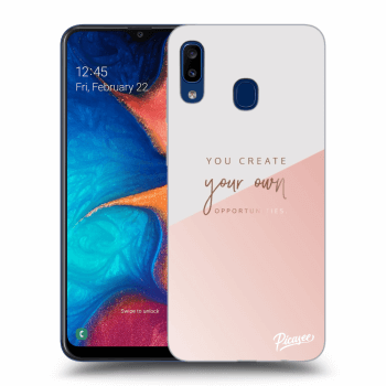 Hülle für Samsung Galaxy A20e A202F - You create your own opportunities