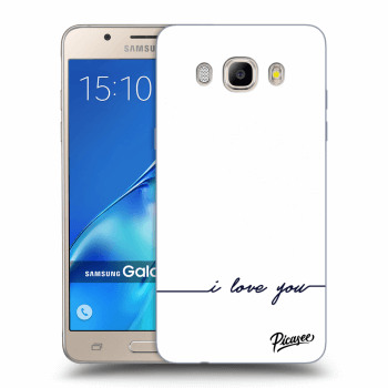 Hülle für Samsung Galaxy J5 2016 J510F - I love you