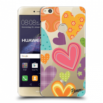 Hülle für Huawei P9 Lite 2017 - Colored heart