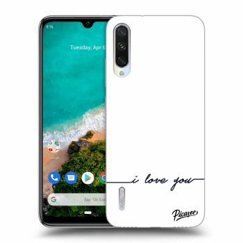 Hülle für Xiaomi Mi A3 - I love you