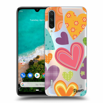 Hülle für Xiaomi Mi A3 - Colored heart