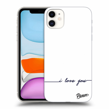 Hülle für Apple iPhone 11 - I love you