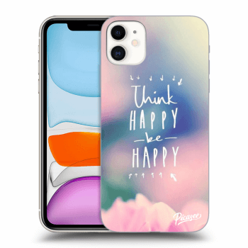Hülle für Apple iPhone 11 - Think happy be happy
