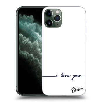 Hülle für Apple iPhone 11 Pro - I love you
