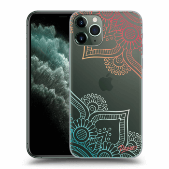 Hülle für Apple iPhone 11 Pro - Flowers pattern