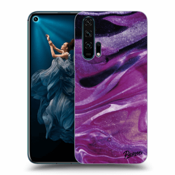 Hülle für Honor 20 Pro - Purple glitter