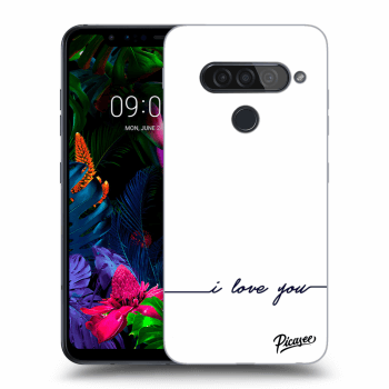 Hülle für LG G8s ThinQ - I love you