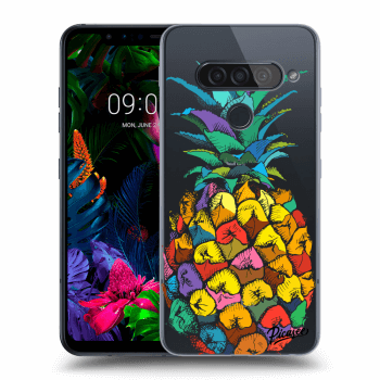 Hülle für LG G8s ThinQ - Pineapple