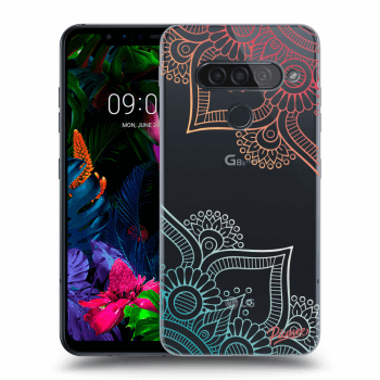 Hülle für LG G8s ThinQ - Flowers pattern