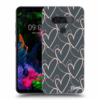 Hülle für LG G8s ThinQ - Lots of love