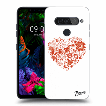 Hülle für LG G8s ThinQ - Big heart