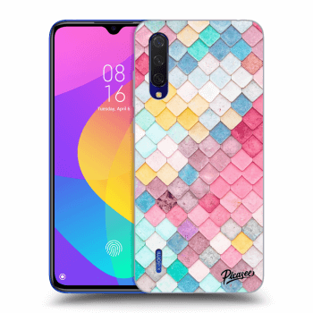 Hülle für Xiaomi Mi 9 Lite - Colorful roof