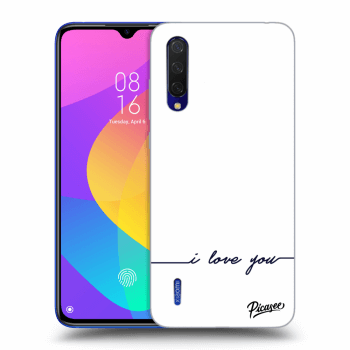 Hülle für Xiaomi Mi 9 Lite - I love you