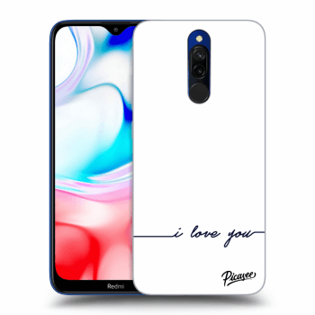 Hülle für Xiaomi Redmi 8 - I love you