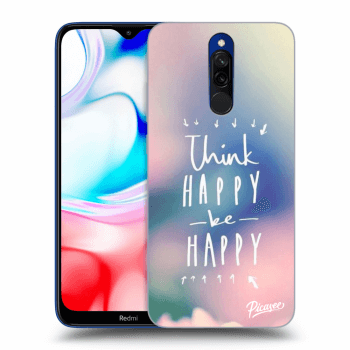 Hülle für Xiaomi Redmi 8 - Think happy be happy