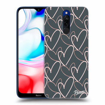 Hülle für Xiaomi Redmi 8 - Lots of love