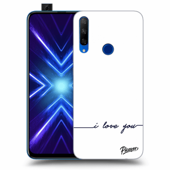 Hülle für Honor 9X - I love you