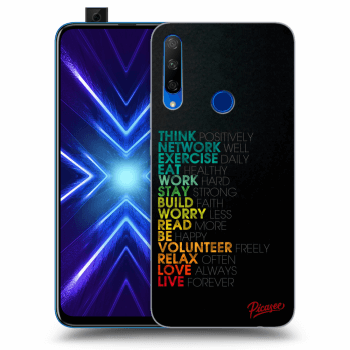 Hülle für Honor 9X - Motto life