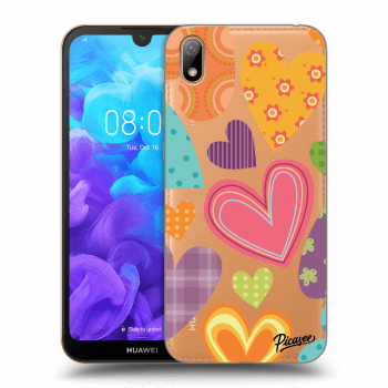 Hülle für Huawei Y5 2019 - Colored heart