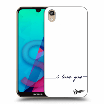 Hülle für Honor 8S - I love you