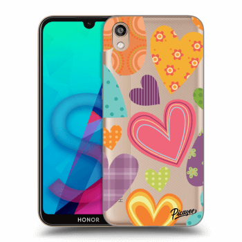 Hülle für Honor 8S - Colored heart