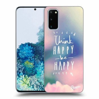 Hülle für Samsung Galaxy S20 G980F - Think happy be happy