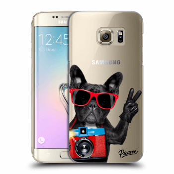 Hülle für Samsung Galaxy S7 Edge G935F - French Bulldog