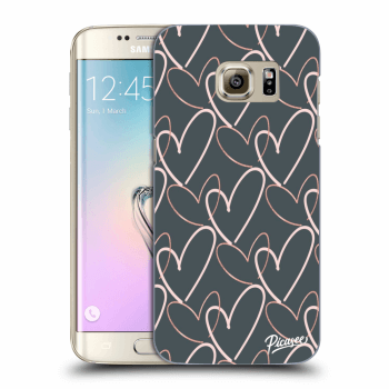 Hülle für Samsung Galaxy S7 Edge G935F - Lots of love