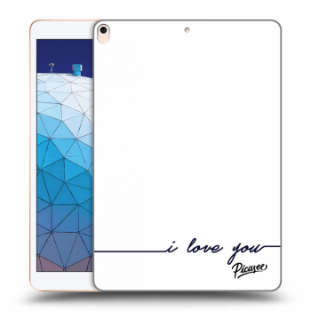 Hülle für Apple iPad Air 2019 - I love you