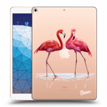 Hülle für Apple iPad Air 2019 - Flamingos couple