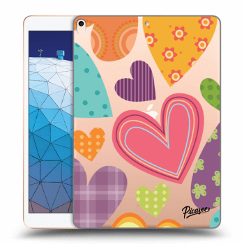 Hülle für Apple iPad Air 2019 - Colored heart