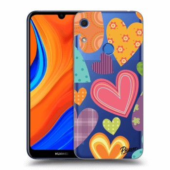 Hülle für Huawei Y6S - Colored heart
