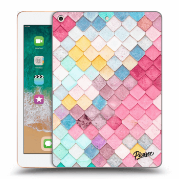 Hülle für Apple iPad 2018 (6. gen) - Colorful roof