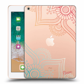 Hülle für Apple iPad 2018 (6. gen) - Flowers pattern