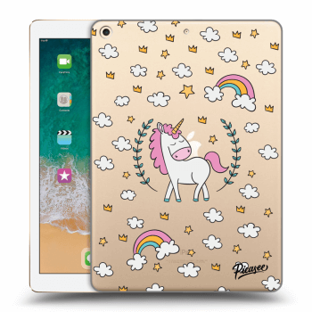 Hülle für Apple iPad 2017 (5. gen) - Unicorn star heaven