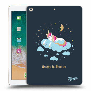 Hülle für Apple iPad 2017 (5. gen) - Believe In Unicorns