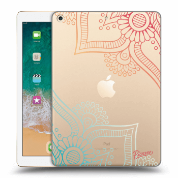 Hülle für Apple iPad 2017 (5. gen) - Flowers pattern
