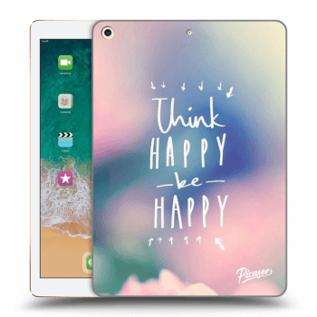 Hülle für Apple iPad 2017 (5. gen) - Think happy be happy