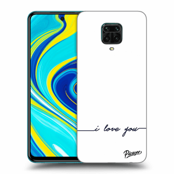 Hülle für Xiaomi Redmi Note 9S - I love you