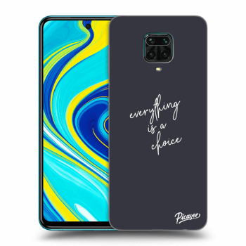 Hülle für Xiaomi Redmi Note 9S - Everything is a choice