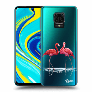Hülle für Xiaomi Redmi Note 9S - Flamingos couple